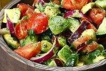 Salate - salads / Lots of ideas for tasty and healthy salads