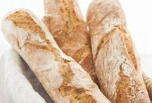 Brot & Brötchen - bread & rolls / Pinnboard with the best recipes for bread and rolls