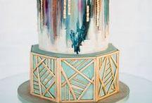 Cakes - art deco