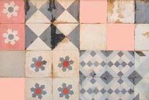 Materials: Hidraulic tiles