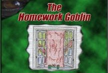 The Homework Goblin / Jason finishes his homework on time, only to have it stolen by the Homework Goblin. He chases the Goblin, only to find himself in an amazing adventure.  The Homework Goblin is my third children's book, you can purchase a copy at: http://sbpra.com/AshleyHowland/
