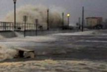 Hurricane Sandy Photos / Numerous photos of the 2012 super storm that made landfall near Brigantine Beach, NJ.  Pics are of Brigantine & Atlantic City