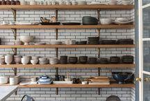 pantry & open shelving