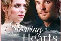 My book--Starving Hearts / Christian romance lover: Escape to the English countryside in my main character's romantic yet dangerous historical world. Meet the handsome young pastor who needs a wife, his adversary--who wants to take one-- and Annette. But be careful. You may end up on a slave ship sailing the Triangular Trade route.