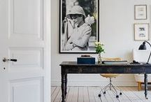 Interior / Natural light, scandinavian design, mix of old and new, muted colors, interesting details.