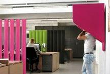 Akoestische producten / Akoestische producten om uw kantoor ruimte weer werkbaar te maken. Wij helpen u graag met de beste oplossingen voor uw akoestiek.
