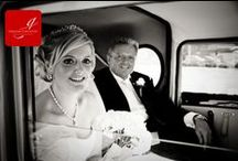 Weddings: Here comes the bride! / The arrival of the bride - great ideas for cars, dresses and flowers!