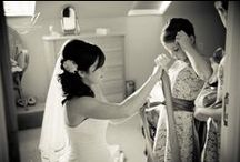 Weddings: The morning like no other - the bridal preparations / Time to get all those detail shots... the dress, the flowers, the necklace... the bride!