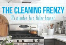 For my Home - Cleaning / Tips for cleaning all areas of house.  Plans to help clean - when, where.