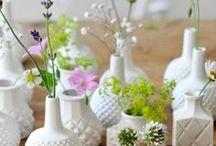 Blumen ♦ Flowers/Plants / Dekoration ♦ Tischdekoration ♦ Blumen- und Pflanzenarangements ♦ Ideen ♦ Inspiration