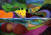David Hockney, obra / by Quena Peleteiro