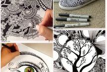 Zentangles and other doodlings