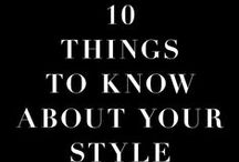 Style Tips.