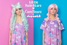 Little Twin Stars x Care Bears Collection / JapanLA presents a special double collaboration featuring your childhood! Little Twin Stars and Care Bears join together for a perfectly pastel dream world! Available at JapanLA.com, Sanrio.com, Select Sanrio Stores, and DollsKill.com!  Model: Chrissa Sparkles/ MUA: Erin Nakashima/ Hair: Tanya Ramirez/ Stylist/Director: StephieeBeast/ Photographer: Greg De Stefano