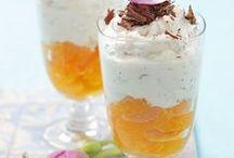 Süß im Glas / Rezepte ♦ Süßes im Glas ♦ Nachtisch ♦ Dessert ♦ Inspirationen für Catering und Buffet