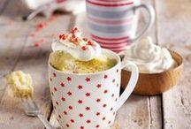 Tassenkuchen ♦ Mug Cake / Rezepte ♦ Tassenkuchen ♦ Mug Cake ♦ kleine schnelle Kuchen