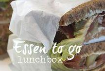 Essen to go ♦ Lunchbox / Essen to go ♦ Essen für unterwegs