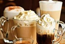 I love Coffee and coffee loves me / Coffee addiction,  caffeinated cafe / by Ary Guevara