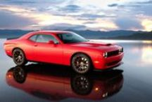 2015 Dodge Challenger SRT Hellcat / 6.2L Supercharged HEMI engine producing 600+ hp. The most powerful V8 that the Chrysler Group has ever made.