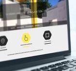 Multimédia / Les interfaces graphiques d'applications et de sites web réalisées par l'Agence Rebelle