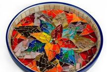 Celebrating Colour / From colorful coasters, platters, bowls to planters and vases. Its all about celebrating the vibrancy of glass.