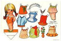 - Aankleedpoppies -