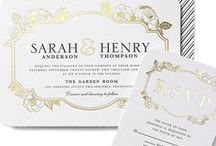 Wedding invitation / Ideas for wedding invitations.