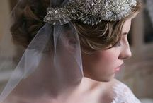 Bridal Veil ideas / Head pieces