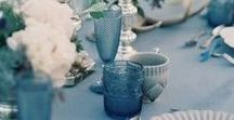 Shades of Dusty / Hues of grey & blue, creating a whispy and romantic wedding with a calming vibe.