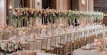 Gold Rose Heaven / Adding rose gold into your wedding in many different ways!