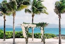 Destination Wedding in the Caribbean / Tropical vibes for your destination wedding in the Caribbean!