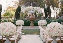 Bel Air Estate Wedding / Inspiration for a classy wedding on a beautiful estate.
