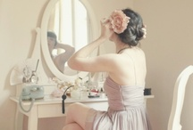 Very Pretty Vanities & Boudoirs. / by Darlene Clement