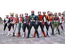 Tokusatsu / Old memories: Kamen Rider, Ultraman, Daitetsujin 17, Akumaizer, Kikaida & Kikaida 01, Inazuman, JAKQ's, Gekiranger, Gorangers, Dynaman, Red Baron et al. / by Raymond Cheng, PhD DPA FRSA