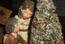 """Starobylé vánoce / Trocha další inspirace pro stejne jako já - """"postižené"""" starožitnostmi"""