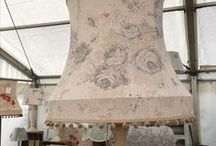 Lampshades / Traditional and inspiring lampshades that I love!