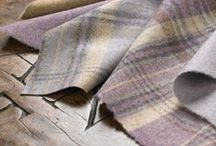 Abraham Moon Wool Fabrics / Available to order from Helen Izzard Designs