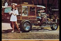 """""""Show Cars"""" / A strange phenomenon existed in the '60's and '70's called the show rod. Basically these were outrageously themed hot rods that could start with anything from a bathtub to a set of bunk beds and, from there, pushed the limits to what a car can be."""