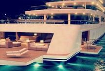 Yachts / Nice digs on water