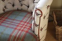 Flohr & Co Fabrics / Beautiful fabrics available from Helen Izzard Designs