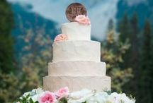 Wedding Cakes / Sweet endings to the perfect day. Wedding Cakes fit for a mountain wedding.