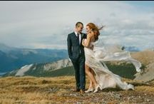 Elopements / From heli-elopements, to ski elopements, to romantic rocky mountain elopements, its all here in the Canadian Rockies!