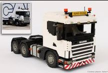 SCANIA 164G 1:13 SCALE LEGO® MODEL / Here my LEGO SCANIA 164G, the first model of my LEGO 1/13 scale truck series.