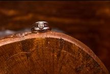 Wedding Rings / A symbol of an eternal bond. Amazing wedding and engagement ring shots from Canadian mountain wedding photographers!