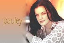 "Pauley Perrette / Pauley Perrette is an American actress, best known for playing Abby Sciuto on the U.S. TV series NCIS. She is also a published writer, a singer and civil rights advocate. Perrette also co-owns the ""Donna Bell's Bake Shop"" in Manhattan. / by Linda Kramer"