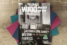 Wilson Fabrics in the Media / Wilson Fabrics features in Magazines and TV shows such as RenoRumble, House Rules and the Block.