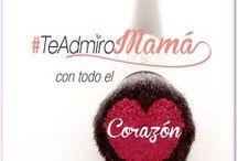 Te Admiro Mamá!! / Hoy 10 de mayo queremos hacer un homenaje a la mujer que ha estado con nosotros en los momentos más importantes de nuestra vida y se ha convertido en un ejemplo a seguir. Te invitamos para que hagas parte de esta campaña y nos cuentes por qué admiras a tu mamá