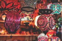 décor - turkish lamps