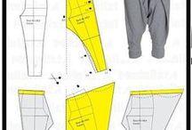 kaavoja vaatteille / kaavoja patterns