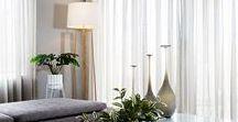 Curtain and Drapery Inspiration / curtain, drapery, interior design, windows, bright, homewares, decor, modern, sheer curtains